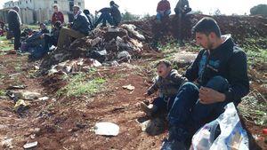 مردم نبل و الزهرا کمک کُردها را در زمان محاصره فراموش نکردند/ ورود ۴۰۰ هزار جنگزده عفرین به شهرکهای شیعه نشین حلب+ تصاویر