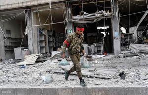 کشته و زخمیشدن ۵۰ تن تروریست بر سر غارت اموال مردم عفرین +عکس و نقشه میدانی