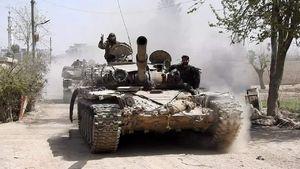 پایان اولتیماتوم به گروه تروریستی جیش الاسلام در غوطه شرقی دمشق/ شمارش معکوس آغاز عملیات پاکسازی الریحان و دوما + تصاویر و نقشه میدانی