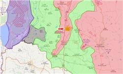 تجمع نیروهای مقاومت در مرز اردن-سوریه؛ نگرانی مقامات صهیونیستی و آمریکایی
