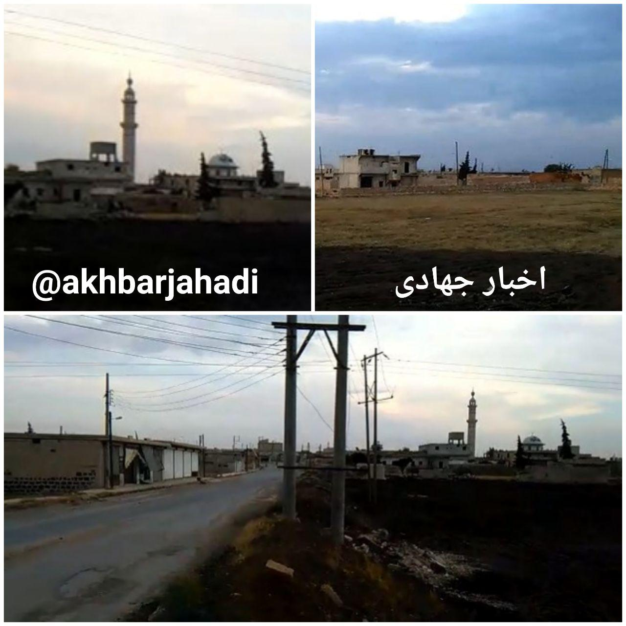 عکس/ الحاضر – جنوب حلب