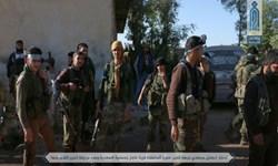 تروریستهای منطقه «اللجاه» در ریف درعا سلاح خود را تحویل ارتش سوریه میدهند