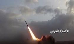 انهدام پایگاه شبهنظامیان سعودی در غرب یمن با شلیک موشک بالستیک