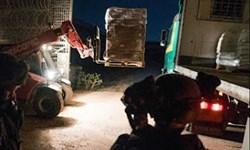 ارسال کمکهای ارتش رژیم صهیونیستی به معارضان سوری در جولان+ویدئو