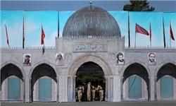 ورود «رهبر» به دانشگاه سپاه از مسجدالاقصی/ ۶ شهید شاخص بر روی نماد فلسطین