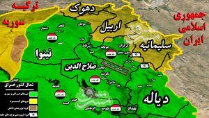 حمله سنگین بازماندههای داعش برای اشغال مهمترین چاههای نفتی صلاحالدین عراق + نقشه میدانی