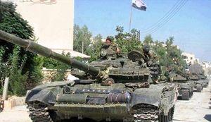 اعزام کاروان بزرگ «ببرهای سوریه» به استان درعا/ جزئیات محورهای عملیاتی ارتش سوریه در جبهه جنوب + نقشه میدانی