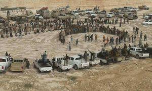 دست و دلبازی سعودیها برای تقویت روحیه ۱۷ هزار تروریست در جنوب سوریه/ بهرهبرداری آمریکا از میادین نفتی شرق سوریه/ آمریکاییها در التنف نقره داغ شدند+ عکس و نقشه میدانی