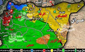 در شرق سوریه چه می گذرد؟ /مروری بر گاف جدید بیبیسی فارسی درباره شهر البوکمال + نقشه میدانی