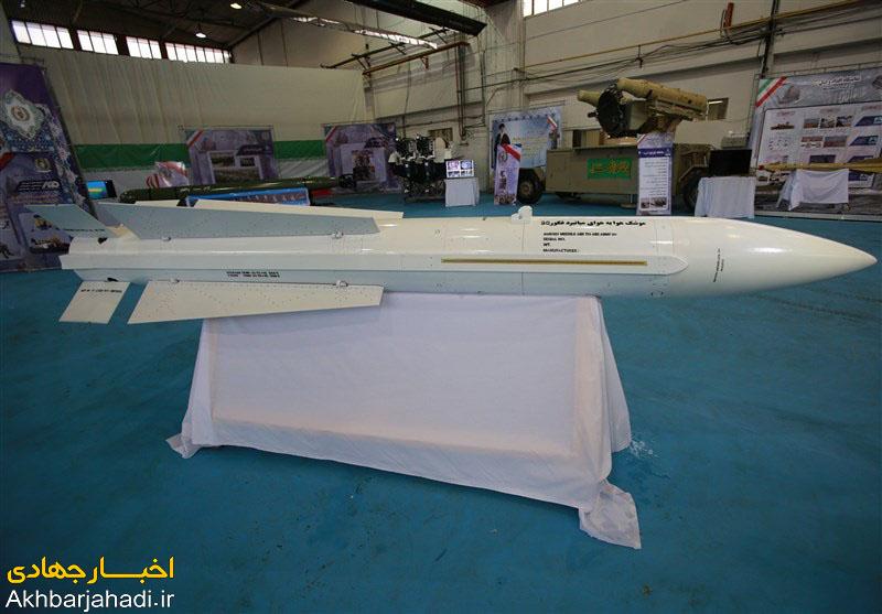 خط تولید انبوه موشک هوای به هوای فکور افتتاح شد + ویژگیها و تصاویر