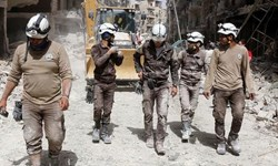 رژیم صهیونیستی صدها نفر از کلاه سفیدها را از سوریه خارج کرد