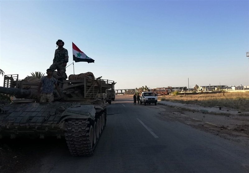 بازگشت ارتش سوریه به مناطق مجاور با جولان اشغالی/آخرین گروه از اهالی «فوعه» و «کفریا» وارد حلب شدند