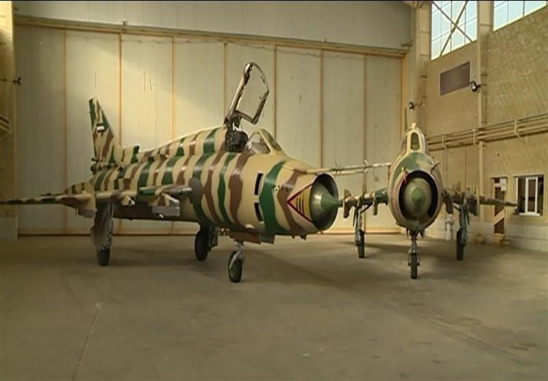 ۱۰ فروند جنگنده بمبافکن سوخو ۲۲ توسط سپاه ارتقا یافت