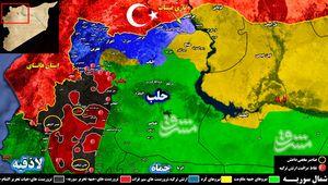 سورپرایز آمریکا برای تروریستهای مورد حمایت ترکیه در شمال سوریه/ ظهور داعش در استان ادلب + نقشه میدانی