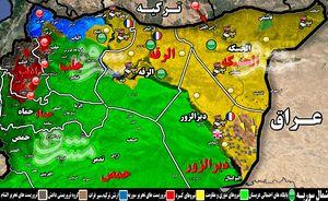 آخرین تحولات میدانی شرق سوریه ؛ عملیات شبه نظامیان کُرد برای تصرف صحرای شمال شرق دیروالزور + نقشه میدانی