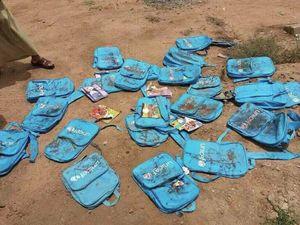 چرا بگیم مرگ بر اسرائیل، آمریکا و سعودی؟/ سکوت برخی از مسئولان داخلی به خاطر ایام حج!/ درد یمن این هست که نه پوستشون سفید و نه چشماشون آبی/ روی دوش هایشان کیف بود با آرم یونیسف+عکس(+۱۸)