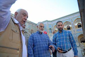بازدید «سردار سلیمانی» از بزرگترین پروژه عمرانی جهان اسلام +عکس