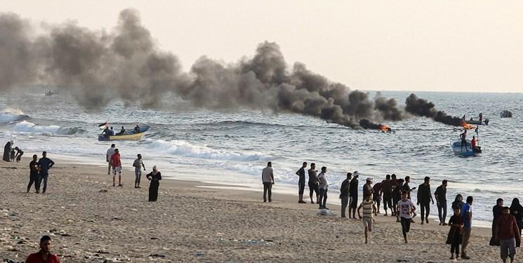 برگزاری تظاهرات بازگشت، اینبار در دریا+ تصاویر