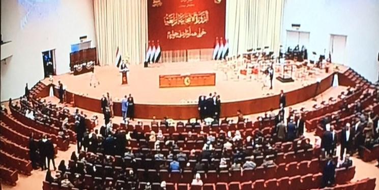 نخستین جلسه پارلمان جدید عراق؛ نمایندگان سوگند خوردند اما فراکسیون اکثریت معرفی نشد