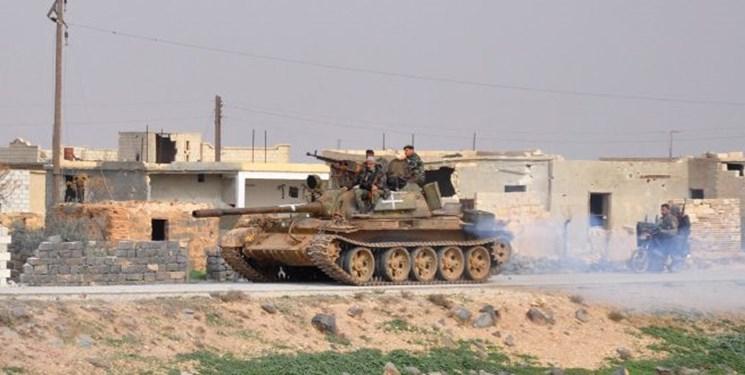 بمباران مواضع تروریستها در شمال حماه و غرب ادلب سوریه