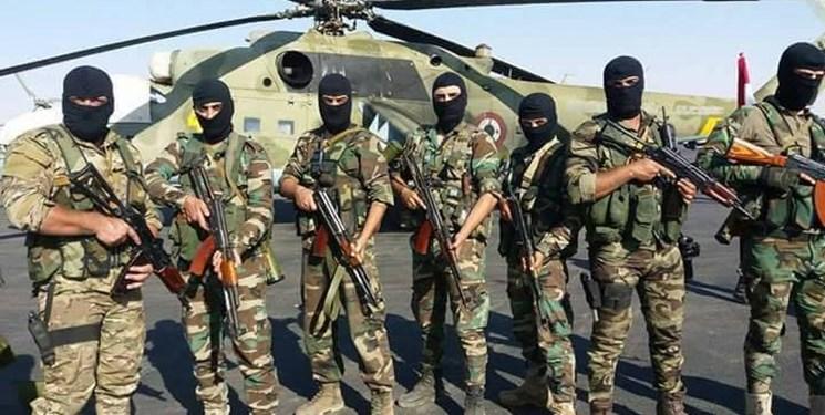 حضور نیروهای اطلاعاتی سوریه در مناطق اشغالی تروریستها در ادلب + فیلم و عکس