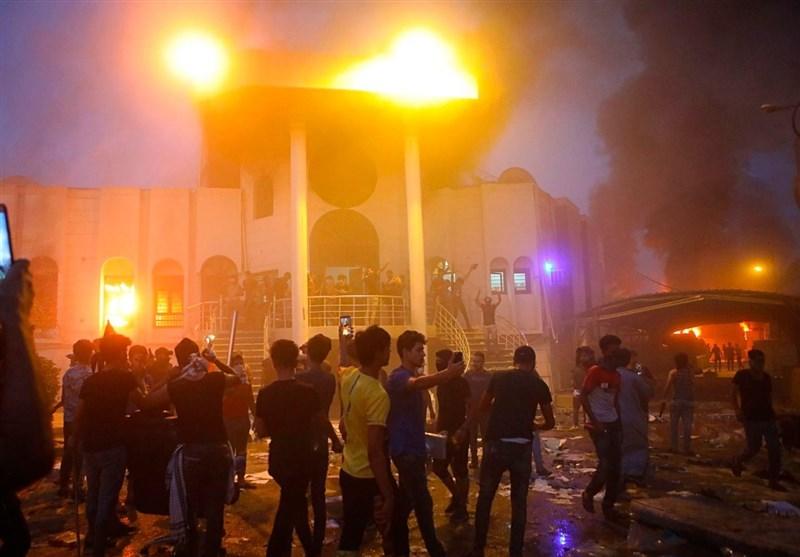 عراق|سناریوی خطرناک برای ایجاد جنگ شیعی-شیعی؛ چرا به دفاتر صدر در بصره حمله نشد؟