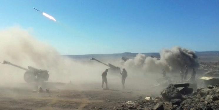 پیشروی ارتش سوریه در شرق «حمص» به سمت منطقه «التنف»