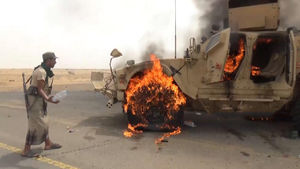ادامه پیشروی نیروهای ارتش و رزمندگان انصارالله در مرزهای مشترک با عربستان/ انهدام تجهیزات نظامی آمریکایی در شمال استان الحجه + نقشه میدانی و تصاویر