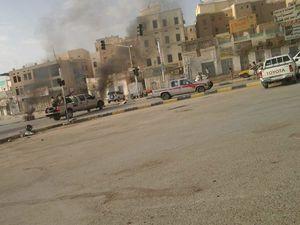 درگیری سنگین میان نیروهای شورشی در استان تعز ؛ اعتصاب و اعتراض مردم در مناطق اشغالی یمن به گرانی و بیکاری +عکس