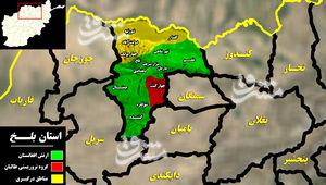 آخرین تحولات میدانی استان «بلخ» در شمال شرق افغانستان/ «تانه و چاهی» به کنترل طالبان درآمدند + نقشه میدانی و تصاویر