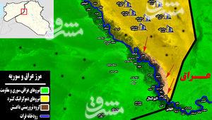 مقاومت هم جانبه تهماندههای داعش برای حفظ آخرین منطقه تحت اشغال در شرق سوریه/ پیشروی شبه نظامیان کُرد در شرق رود فرات + نقشه میدانی