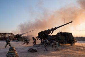 در نوار ساحلی شرق رود فرات چه می گذرد؟/ حملات سنگین شبه نظامیان کُرد برای تصرف آخرین پایگاه داعش + نقشه میدانی و تصاویر
