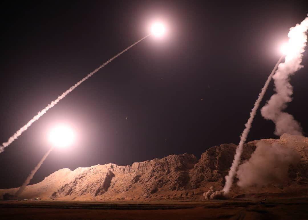 حمله موشکی سپاه به مقر سرکردگان جنایت تروریستی اهواز در شرق فرات در سوریه