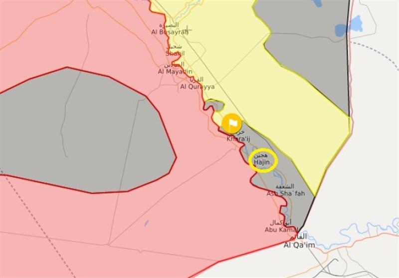 گزارش|ابعاد جدید حمله موشکی به «هَجین»؛ ضربه بزرگ سپاه به نقشه آمریکا در «البوکمال» + نقشه و تصاویر