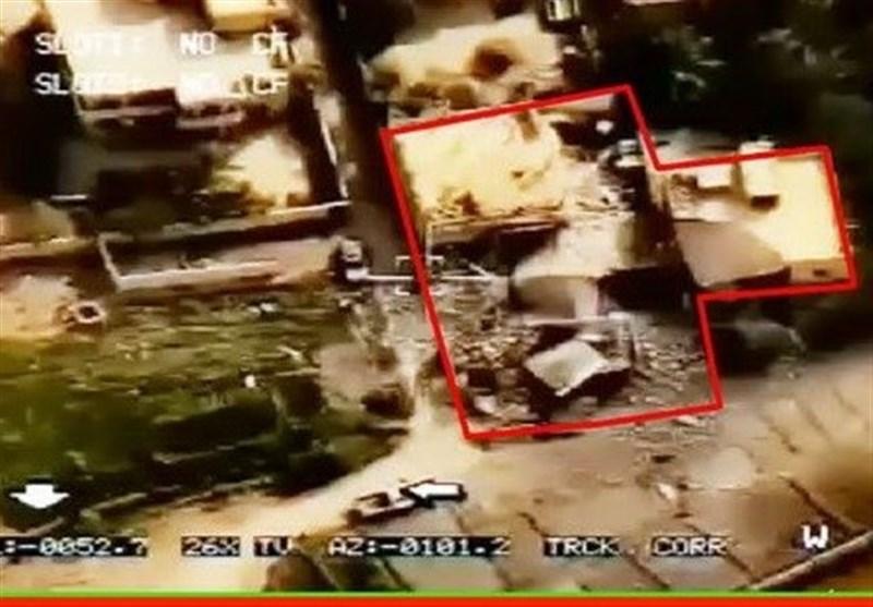 انتشار اولین تصاویر از محل اصابت موشکهای سپاه به مقر تروریستها در سوریه + عکس