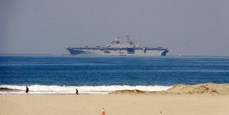 ورود ناو هواپیمابر «ال اچ دی ۲» آمریکا به قطر