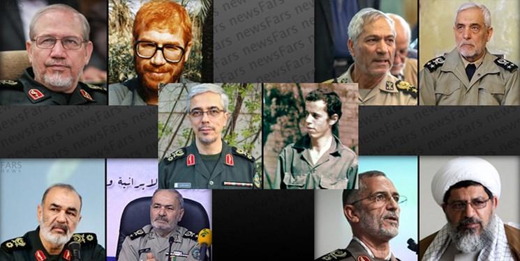 برادران «فرمانده» در نیروهای مسلح ایران