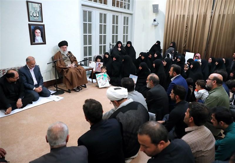 امام خامنهای: شهدای مدافع حرم نبودند راهپیمایی اربعین هم نبود
