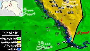 آخرین تحولات میدانی نوار ساحلی شرق رود فرات/ درگیریهای سنگین میان داعش و شبهنظامیان کُرد + نقشه میدانی