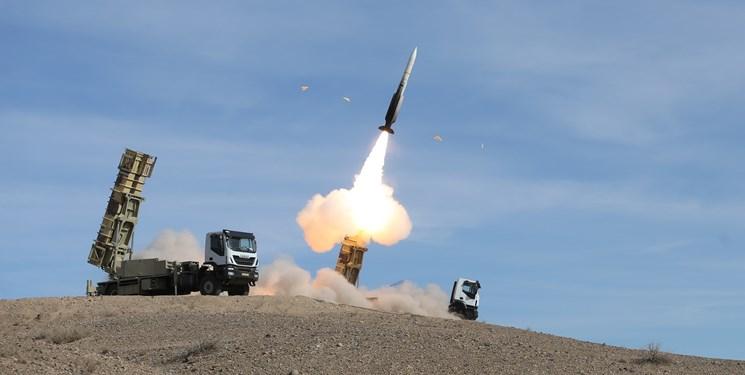 سامانه موشکی «تلاش» ۳هدف هوایی را مورد اصابت قرار داد+عکس