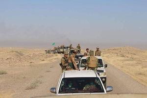 آغاز عملیات نیروهای بسیج مردمی برای تامین امنیت جزیره سامراء + نقشه میدانی و تصاویر