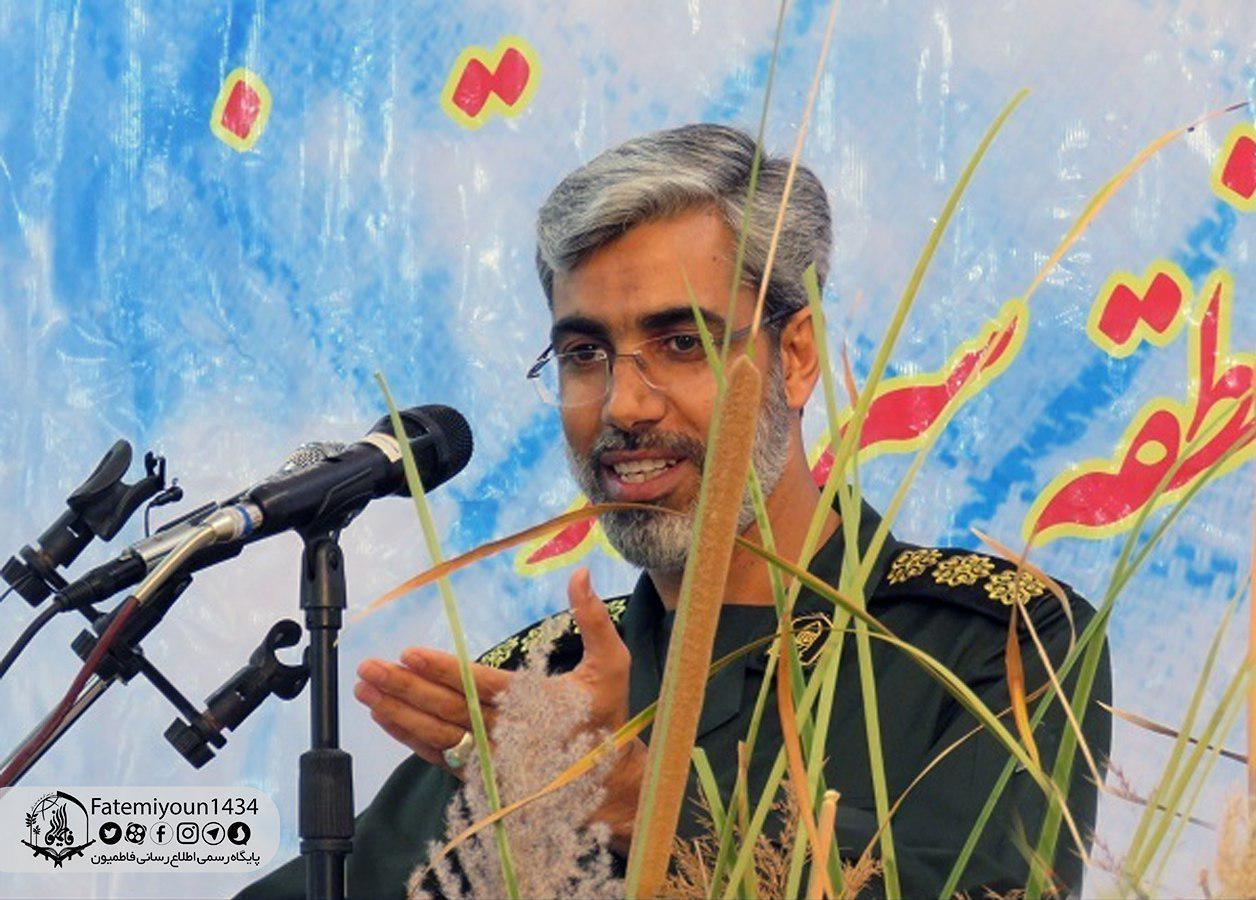 سومین یادواره شهید مدافع حرم عبدالحمید سالاری + عکس