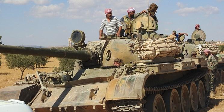 دفع حملات تروریستها از چند محور توسط ارتش سوریه در ریفهای ادلب و حماه