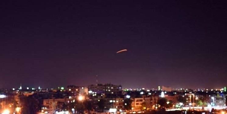 واکنش پدافند سوریه به تلاش صهیونیستها برای حمله به فرودگاه دمشق