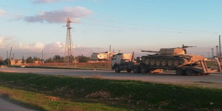 تداوم ارسال تجهیزات به حماه؛ عملیات ارتش سوریه نزدیک است