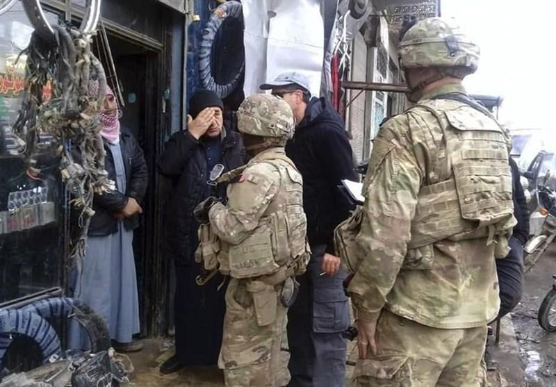 گزارشی از پادگانهای ارتش آمریکا در حومه منبج+نقشه