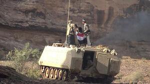 آخرین تحولات میدانی جنوب عربستان/ حملات سنگین مزدوران سعودی علیه نیروهای یمنی در جنوب غرب استان نجران + نقشه میدانی و عکس