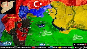 تیر تروریستها در شرق استان ادلب به سنگ خورد/ جزئیات حملات سنگین به مواضع ارتش سوریه در حومه شهرک و فرودگاه ابوظهور + نقشه میدانی و عکس