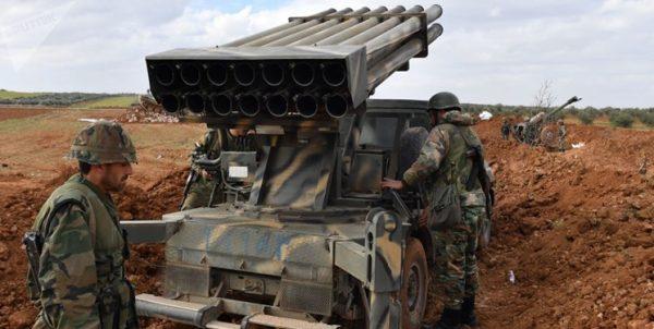 درگیری ارتش سوریه و تروریستها پیش از برگزاری مذاکرات «آستانه»