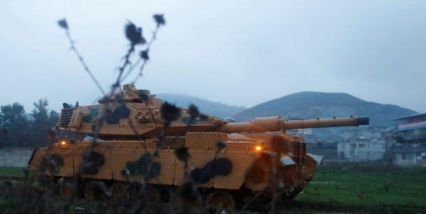 تکمیل آمادهسازی ارتش ترکیه جهت عملیات نظامی در شرق فرات